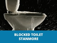 blocked toilet stanmore
