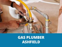 gas plumber ashfield