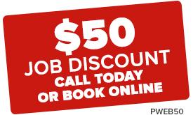 $50 job discount PWEB50
