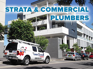 strata & commercial plumbers