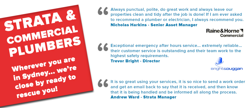 commercial strata plumber centre image